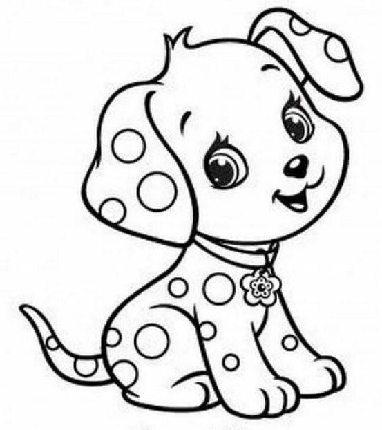 Dogs coloring pages 58