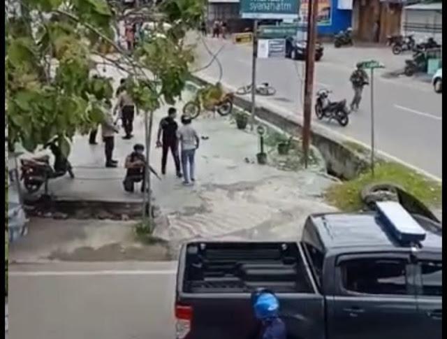 DAR DER DOR! Pos Polisi Ditembak OTK di Poso, Satu Kena