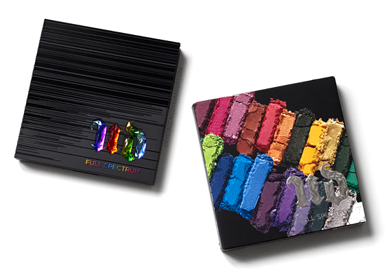 Urban Decay Full Spectrum Eyeshadow Palette Review Photos Packaging