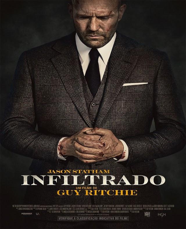 INFILTRADO | Filme com Jason Statham ganha trailer, cartaz e previsão de estreia