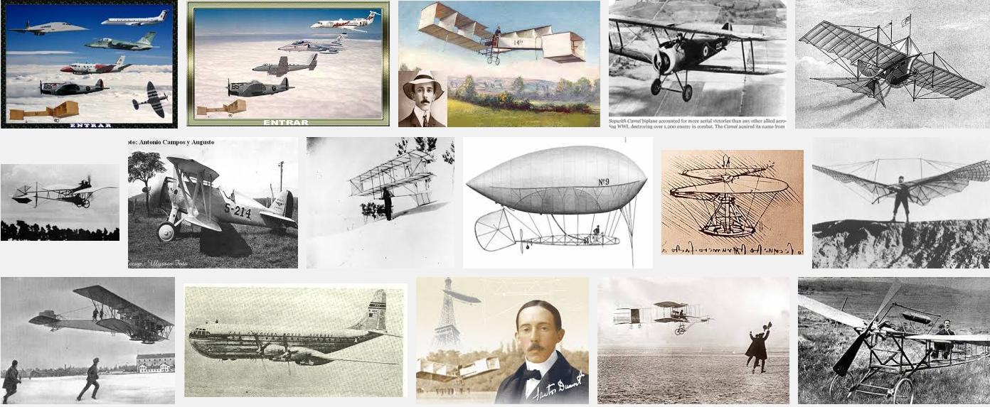 História da Aviação e Aviação no Brasil