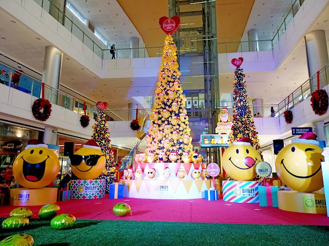A 20 ft. Smiley Christmas tree at SM City Masinag
