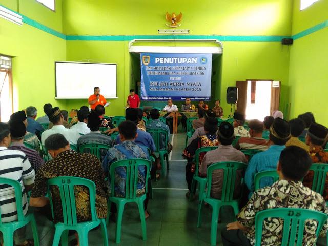 Babinsa Menghadiri Undangan Pemantapan Badan Usaha Milik Desa
