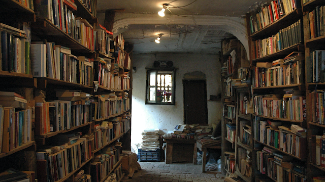 The Secret Library in Darraya, Damascus, Syria (Photo Lauren Mulcahy)