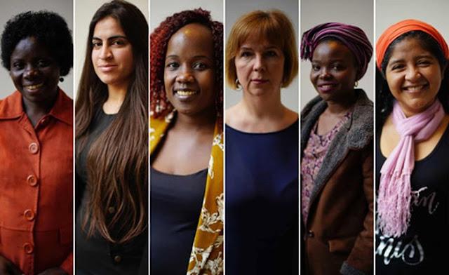 """Một số phụ nữ là nạn nhân của bạo lực tình dục tham gia """"Mạng lưới nạn nhân và những người sống sót toàn cầu chung tay chấm dứt nạn hiếp dâm thời chiến"""""""