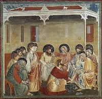 Lavement des pieds, Giotto