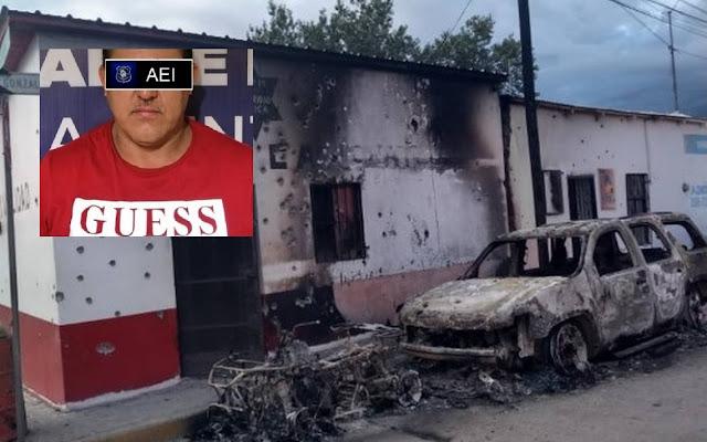 Fotos: No se quedaron conformes y Sicarios tras captura de El H7 líder del Nuevo Cártel de Juarez irrumpen en Instalaciones queman y destruyen todo a su paso en Chihuahua