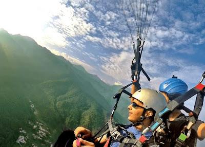 Weekend trip to Bir Billing Paragliding