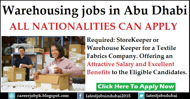 Warehouse jobs in Dubai