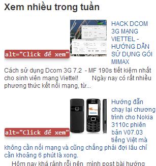 """Thêm thẻ Alt vào tiện ích """"Bài đăng phổ biến"""" blogspot"""