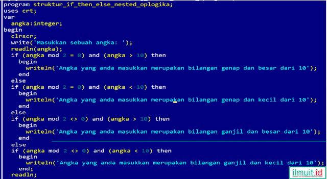 Merubah Penggunaan Nested IF dengan Operator Logika / Boolean