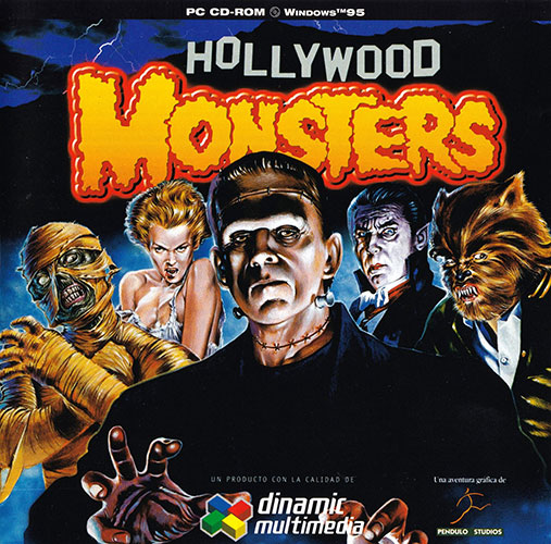 Hollywood Monsters Carátula delantera