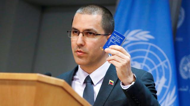 """Arreaza: """"Nadie logrará que la soberanía de Venezuela sea doblegada por la ofensiva imperialista"""""""