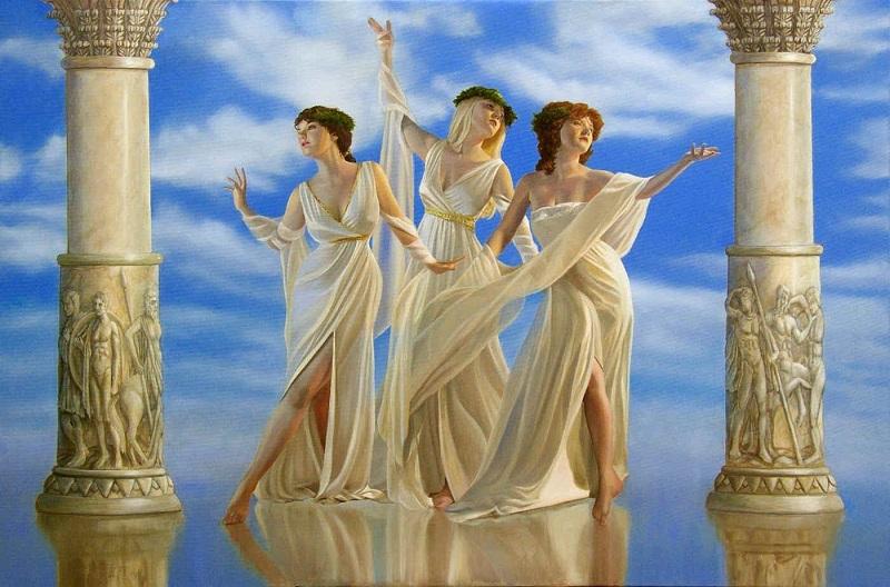 Horas (Horae) - Deusas Das Estações