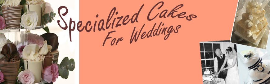 Specialized Cakes For Wedding