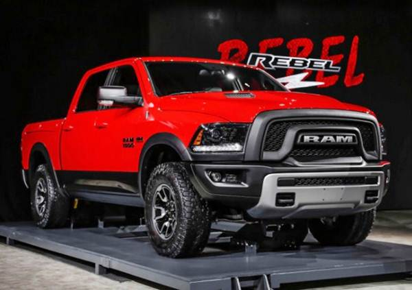 2017 RAM Rebel TRX Price Release