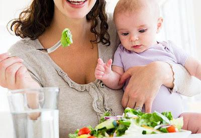 Daftar Makanan Sehat Untuk Ibu Menyusui