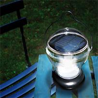 jard n solar l mparas solares en mi mesa de jard n. Black Bedroom Furniture Sets. Home Design Ideas