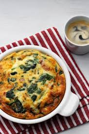 Keto Frittata With Spinach