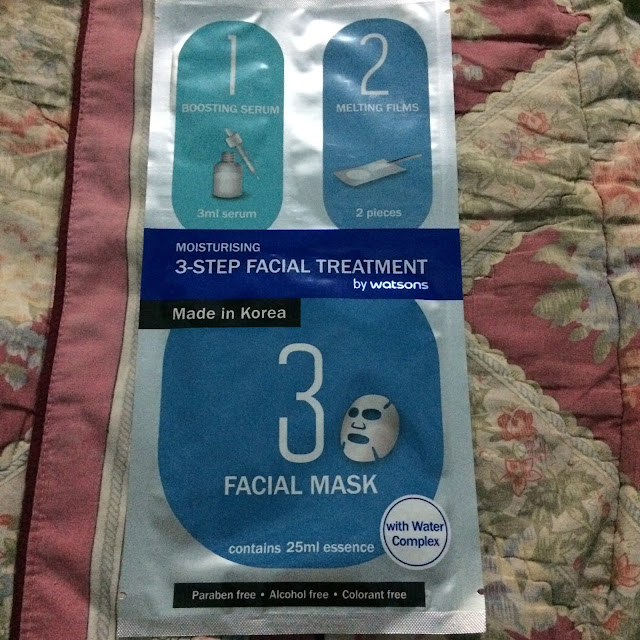 3-Step Facial Treatment from Watsons REVIEW