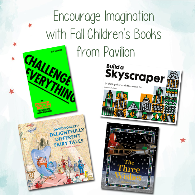 Encourage Imagination with Fall Children's Books from Pavilion {A Holiday Gift Guide Review}