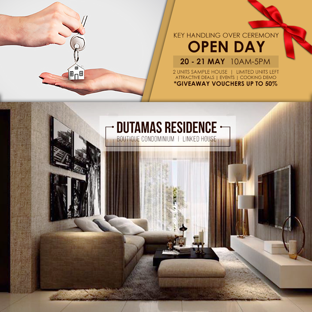 Jayamas Property: Dutamas Residence - Keys Handling Over
