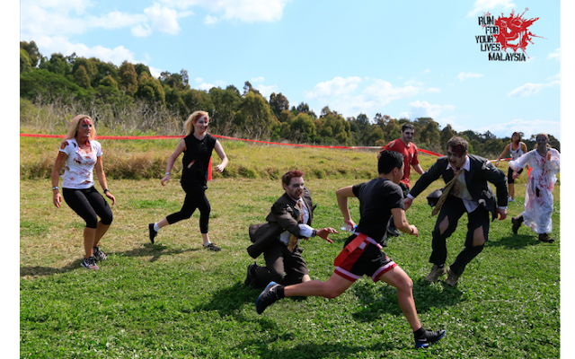 Lari Selamatkan Diri Anda Dari Serangan 'Zombi' Pada 31 Disember Ini