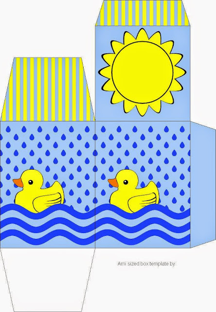 Rubber Ducky Free Printable Box.