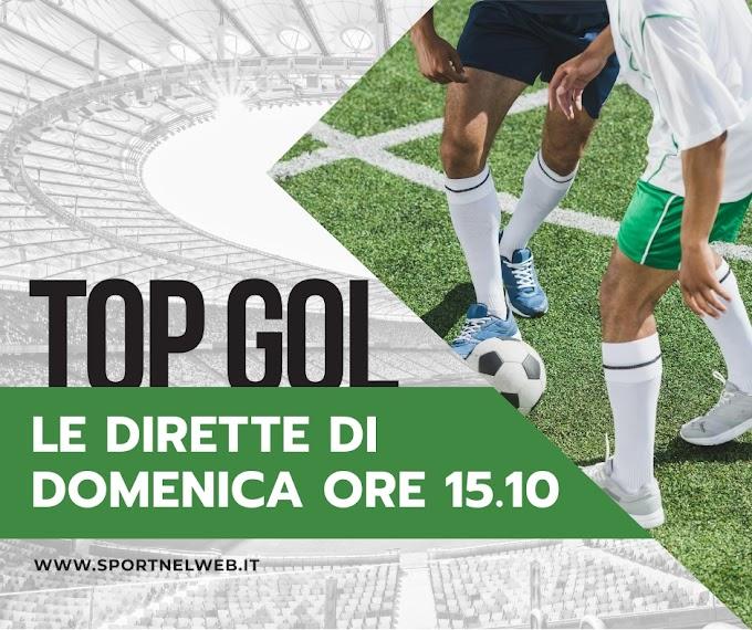 Radio - DIRETTE DOMENICA 27 OTTOBRE ORE 14.10 - Top Gol ++ NUOVO ORARIO ++