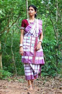 Santali Traditional dress
