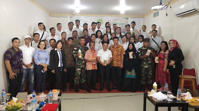 Launching Pupuk Cair Organik POIN DUATANI DAN GROYIELD di Kabupaten Melawi