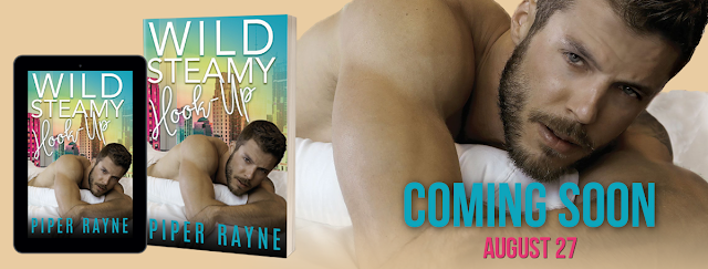 Cover Reveal ~ WILD STEAMY HOOK-UP by Piper Rayne