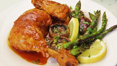 Piletina u umaku od limuna, češnjaka i meda / Honey Lemon Garlic Chicken