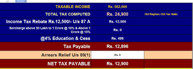 Income Tax Software for Non-Govt Employees for F.Y.2020-21
