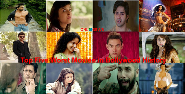 Top Five Worst Movies in Bollywood History