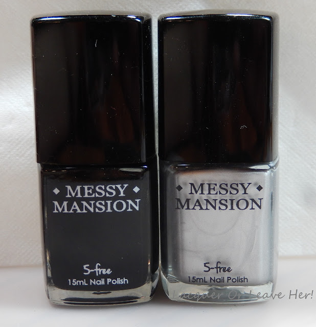 Messy Mansion Carbon and Sterling