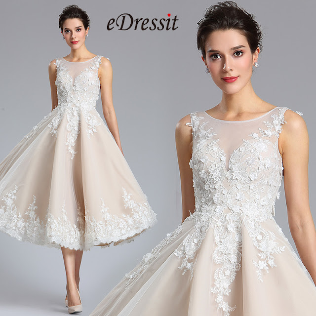 eDressit Lace Sleeveless Cocktail Dress Party Dress