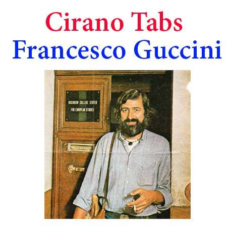 Cirano Tabs Francesco Guccini - How To Play Cirano On Guitar Tabs & Sheet Online