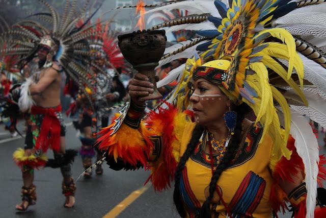población indígena de América del Sur, Centroamérica y parte del Caribe