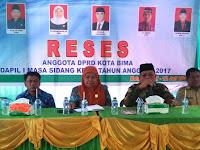 Reses di Asakota, Lurah Jatiwangi Apresiasi Kinerja Anggota dan Pimpinan Dewan