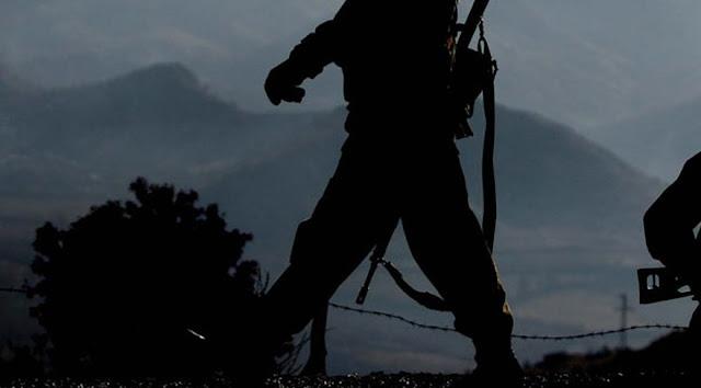 Kayıp asker ayaklarına zincir bağlı halde bulundu