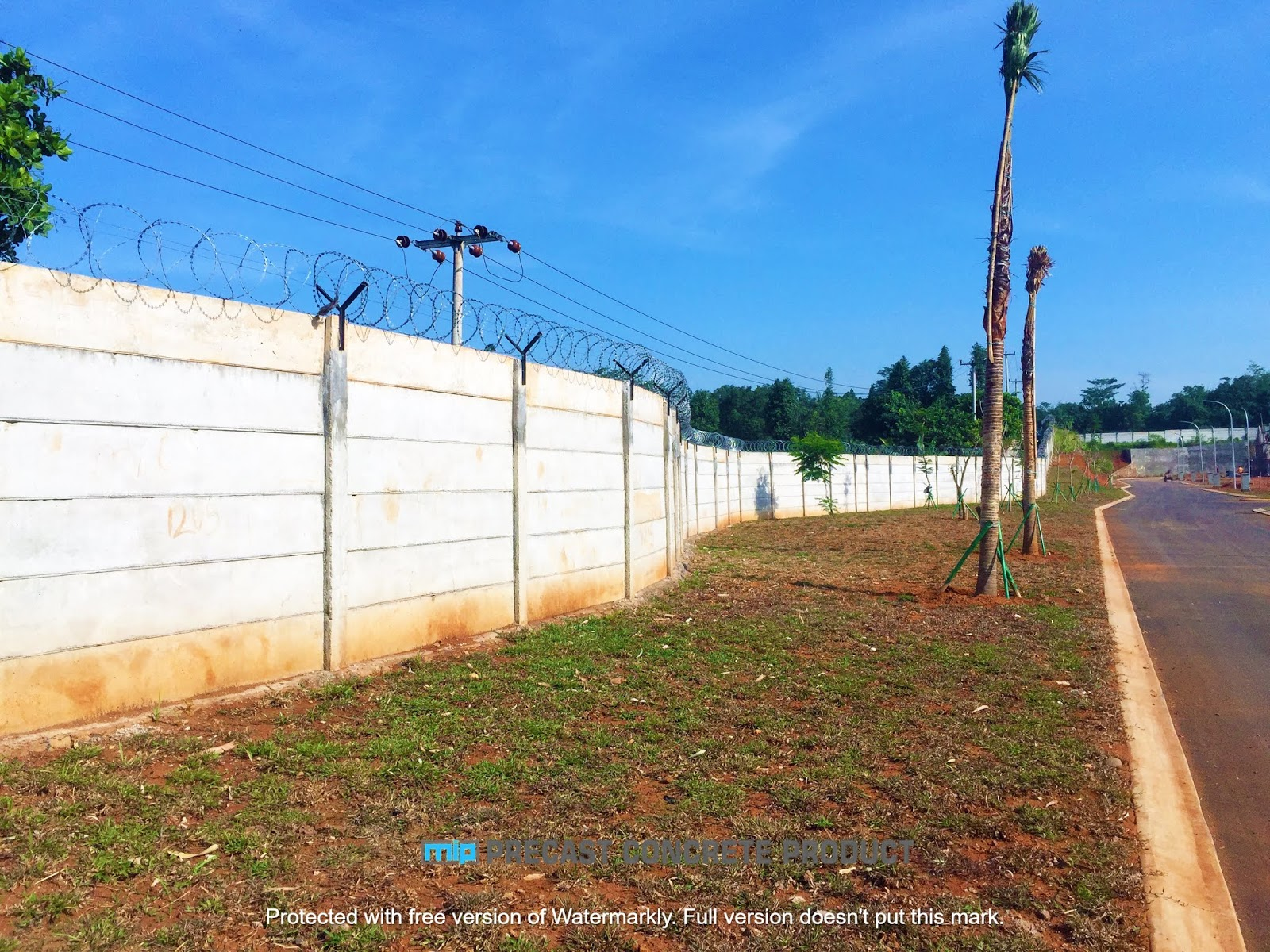 harga pagar panel beton megacon Ungaran Timur Ungaran