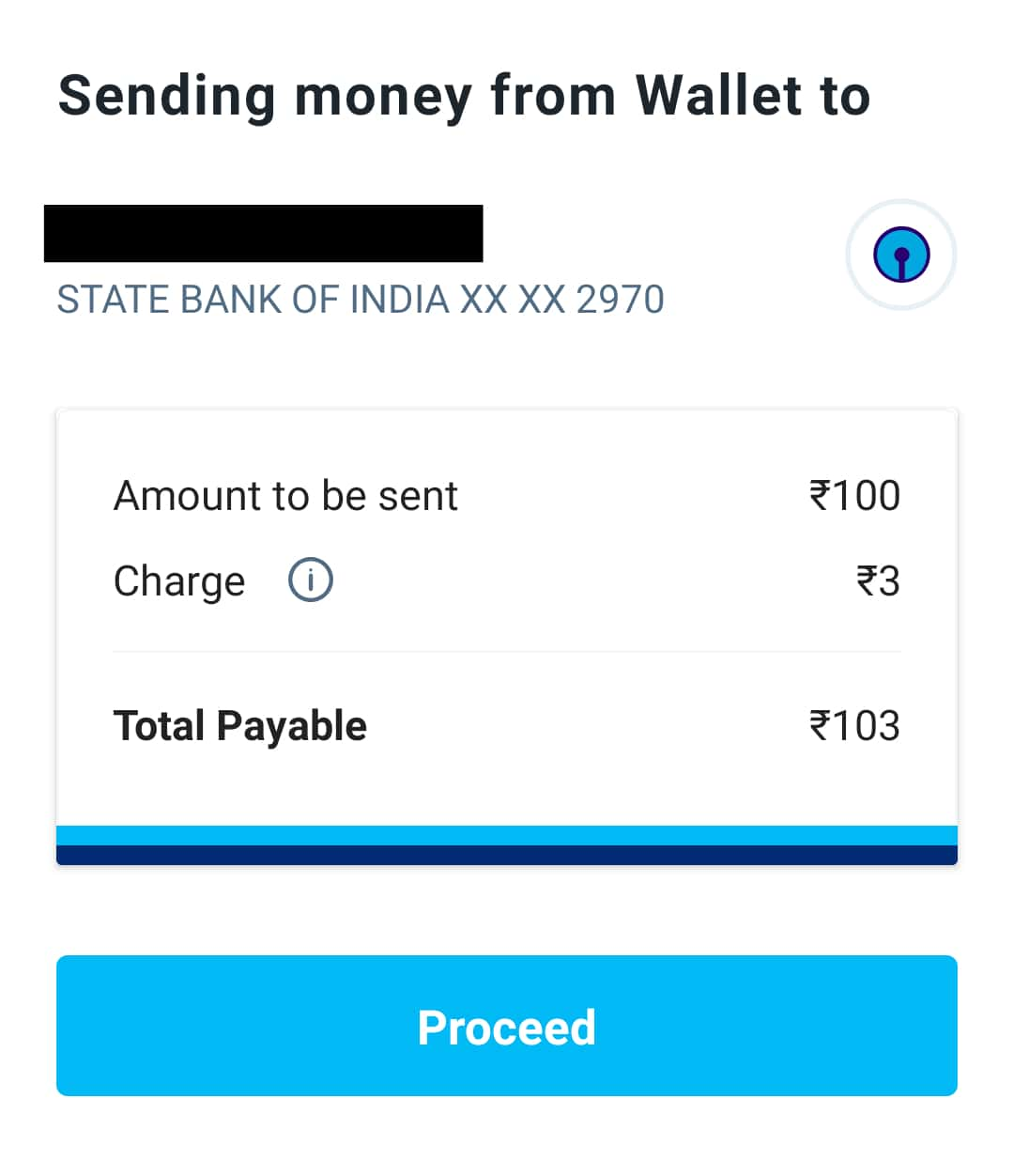 Transfer money from paytm wallet to bank