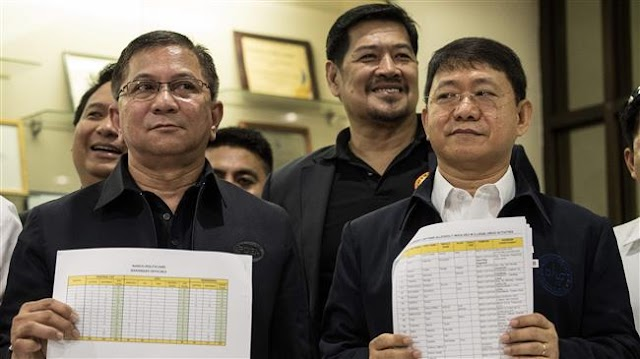 Philippines names 'narco' officials ahead of elections