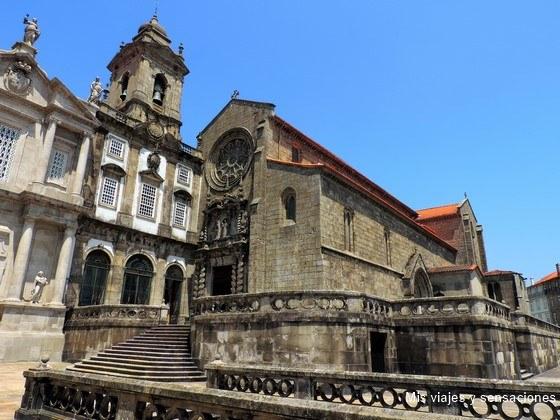 Iglesia de Sao Francisco, Oporto, Portugal