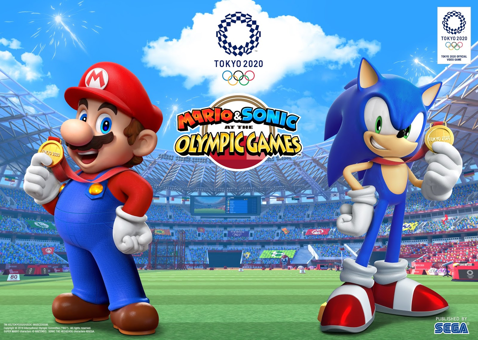 Give the Gift of Gaming on Nintendo Switch:  Mario and Sonic at the Olympic Games: Tokyo 2020