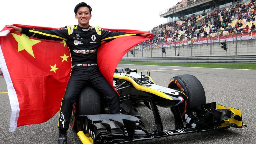 Zhou atualmente lidera Oscar Piastri por cinco pontos no campeonato F2 após três rodadas