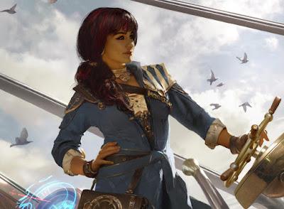 Magic The Gathering: Jhoira, Weatherlight Captain by Brad Rigney