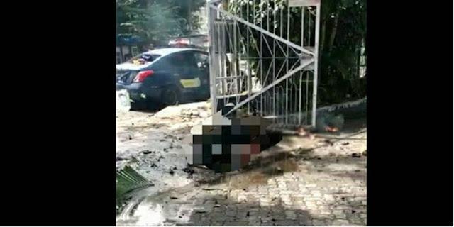 Ledakan Bom Bunuh Diri Diduga Terjadi Di Gereja Katedral Makassar