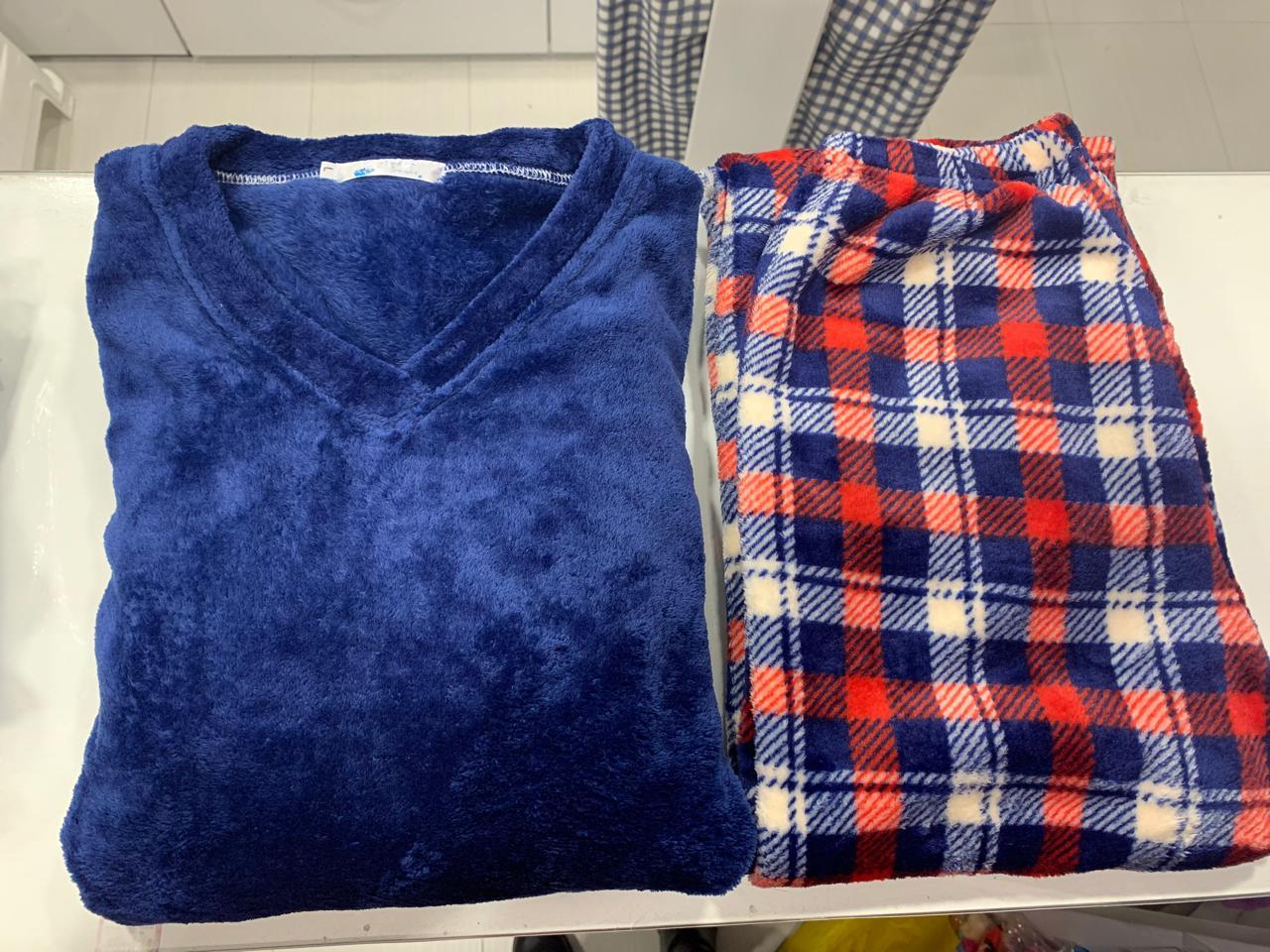 pijama para hombre color azul en Bogota